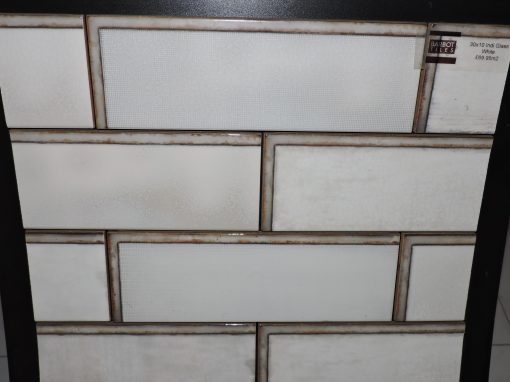 FORWARD GREY AND BRICK DECOR TILE