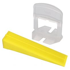 COMBI LEVELLING TILES SPACER/WEDGE KIT (1MMX25)